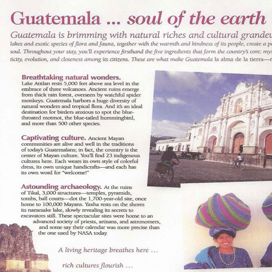 Guatemala: Soul of the Earth